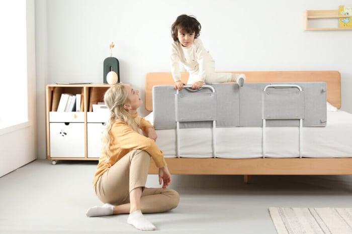 Protectie pat copil, pliabila si super portabila, H 30 cm, Diverse dimensiuni [1]