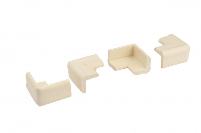 Set 4 bucati mamut protectii colturi mobilier, 4x1.3x7 cm imagine