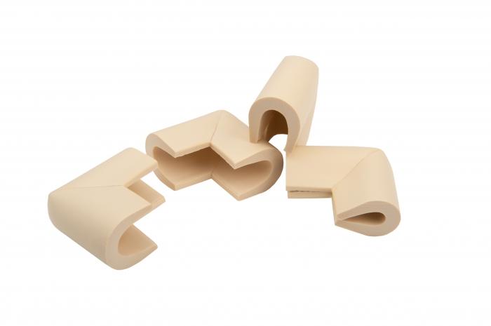 Set 4 coltare in forma U, 3.5x0.7x6 cm imagine