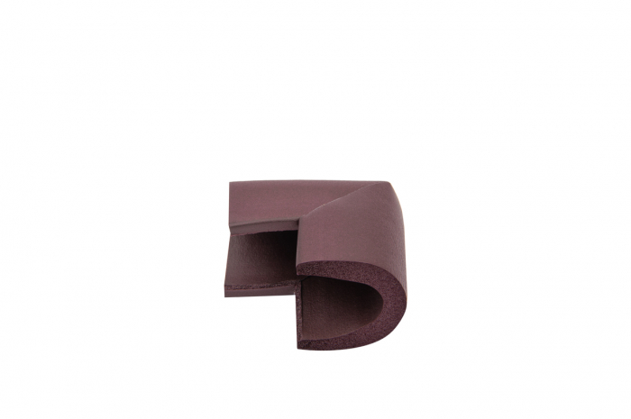 Set 4 coltare in forma U albastru, 3.5x0.7x6 cm_Buy4Baby 1