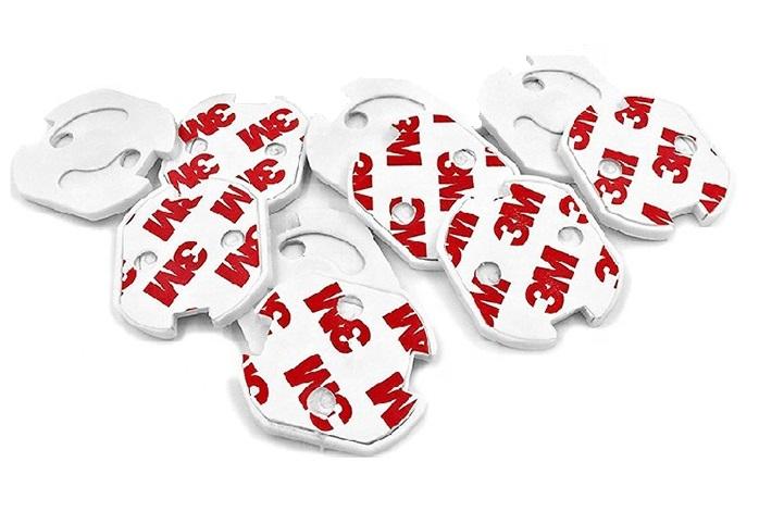 Set protectie priza copii, 10 bucati cu adeziv 0