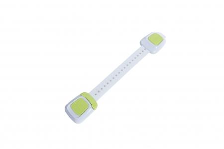 Set 4 sigurante flexibile cu incuietoare dubla pentru usi si sertare, 25 cm, diverse culori3