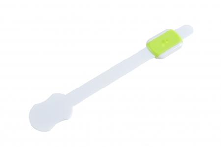 SET 10 protectii flexibile si ajustabile pentru usi si sertare verde, 23 cm3