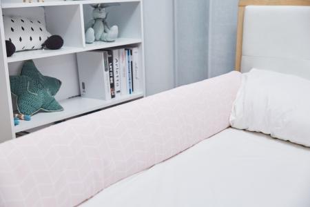 Aparatoare laterala pat 150 cm - bumper flexibil5