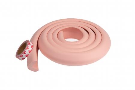 Banda protectie groasa pentru muchii si margini, 3.5x1.2x200 cm, Roz0