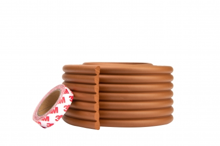 Banda protectie lata multifunctionala, 8x0.8x200 cm, maro deschis1