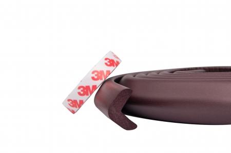 Banda protectie subtire pentru muchii si margini 2.3x0.9x200 cm - Diverse culori1