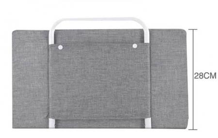 RESIGILATA - Mini-Bumper protectie pat,  50(L)*28(H) cm, Diverse culori0