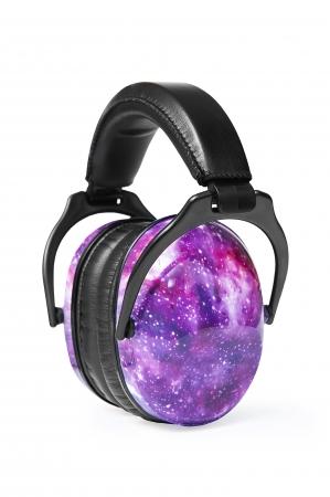 Casti antifonice pentru copii Purple Galaxy0