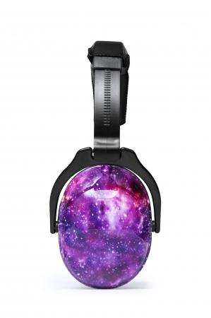 Casti antifonice pentru copii Purple Galaxy1