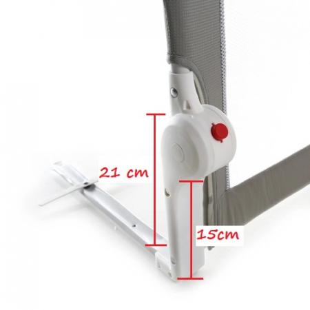 Margine de siguranta pentru pat, rabatabila, inaltime 48 cm, Astro, Diverse dimensiuni [4]