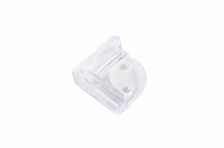 Set 4 coltare silicon transparent, 4.2x1.9x0.8 cm_Buy4Baby [1]