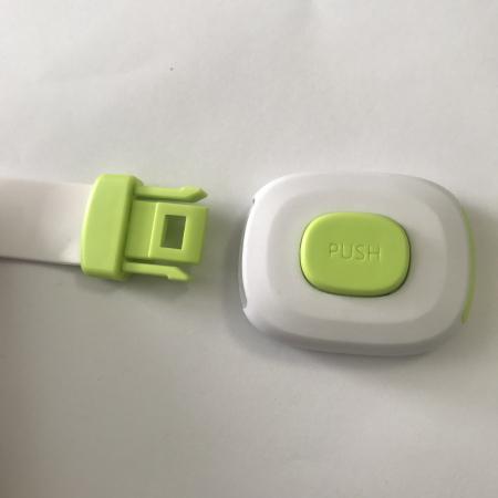 Set 6 sigurante flexibile cu incuietoare dubla pentru usi si sertare, Diverse culori [2]