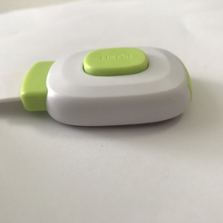 Set 6 sigurante flexibile cu incuietoare dubla pentru usi si sertare, Diverse culori [1]