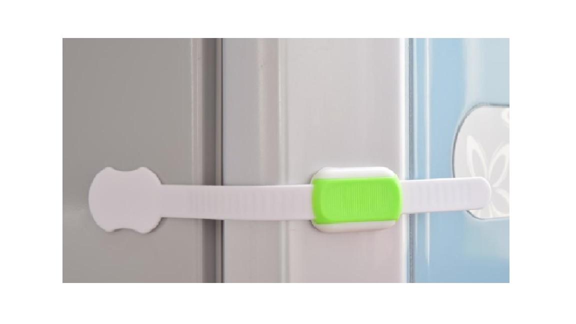 Siguranta flexibila si ajustabila montata pe o usa