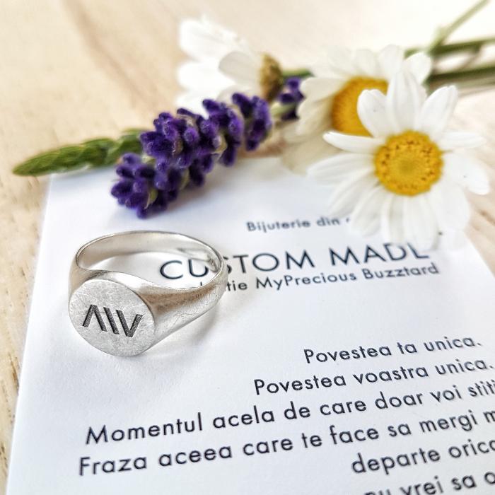 Inel Custom Made ghiul - argint 925 0