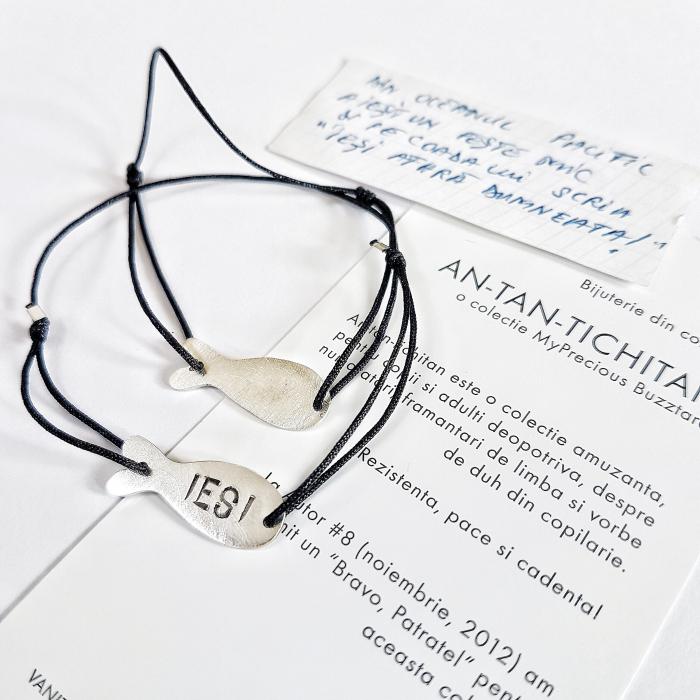 Bratara AN-TAN-TICHITAN - peste mic - argint 925 0
