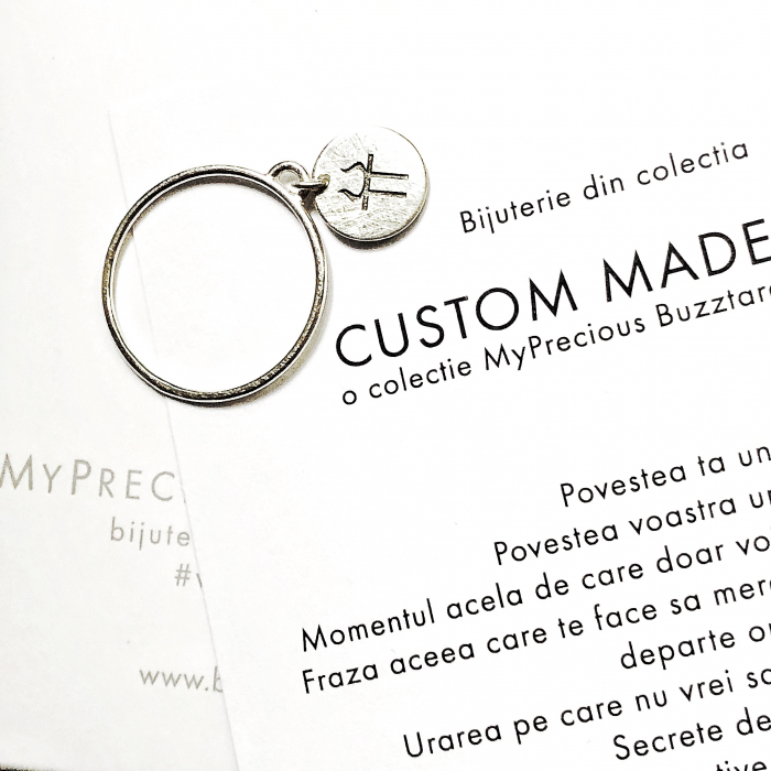 Inel Custom made cu ban - argint 925 0