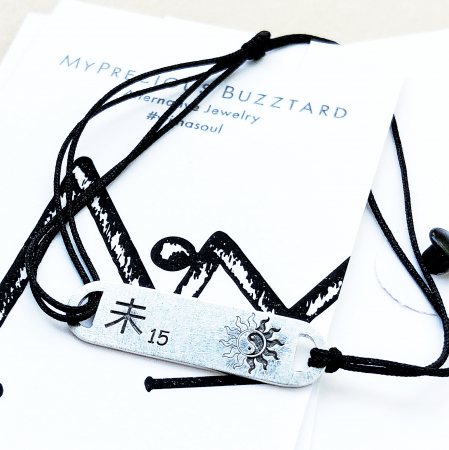 Bratara Custom Made placa ovala - argint 9255