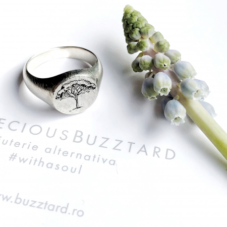 Inel Custom Made ghiul - argint 9251