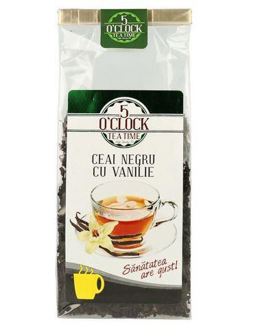 5 O'CLOCK Ceai Negru cu Vanilie 200g [0]