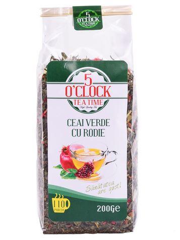 5 O'CLOCK Ceai Verde cu Rodie 200g [0]