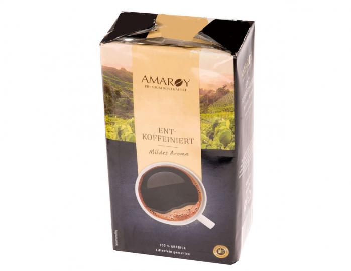 AMAROY Decofeinizata Cafea Macinata 500g [0]