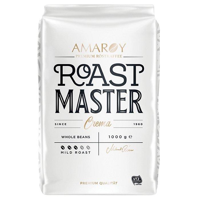 AMAROY Roastmaster Crema Cafea Boabe 1Kg [0]