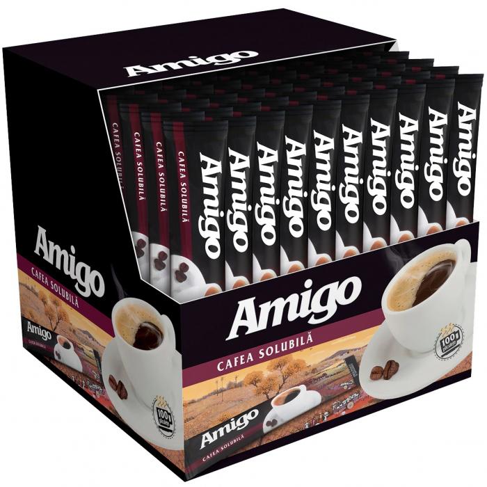 AMIGO Cafea Solubila Instant Plic 100x1.8g [0]