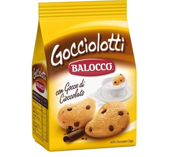 BALOCCO Biscuiti cu Ciocolata Gocciolotti 700g [0]