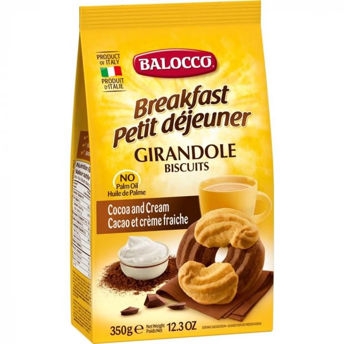 BALOCCO Biscuiti cu Smantana si Cacao Girandole 350g [0]