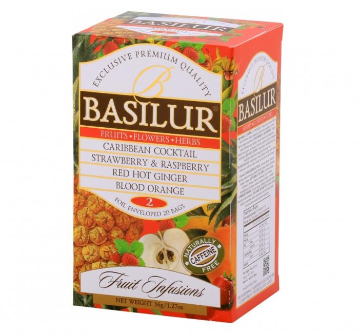 BASILUR Assorted Vol.2 Ceai de Fructe 20buc 36g [0]