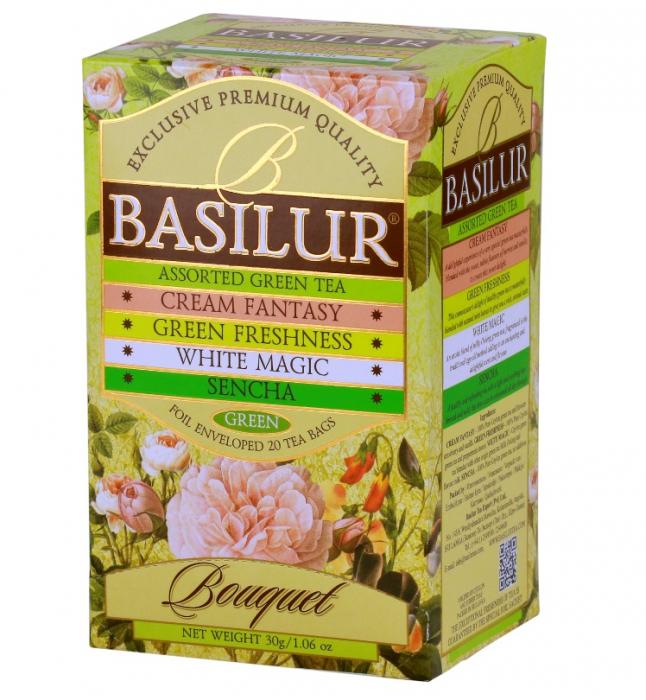 BASILUR Bouquet Assorted Ceai Mixt 20buc 30g [0]