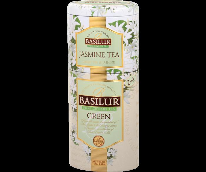 BASILUR Ceai Verde cu Iasomie in Cutie de Metal 125g [2]