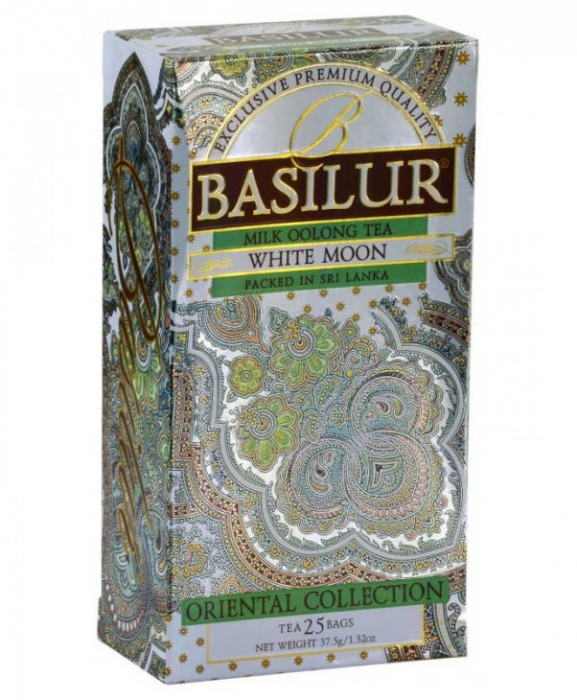 BASILUR Ceai Verde White Moon Oriental Collection 37.5g [0]