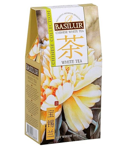 BASILUR Chinese White Tea Ceai Alb Refil 100g [0]