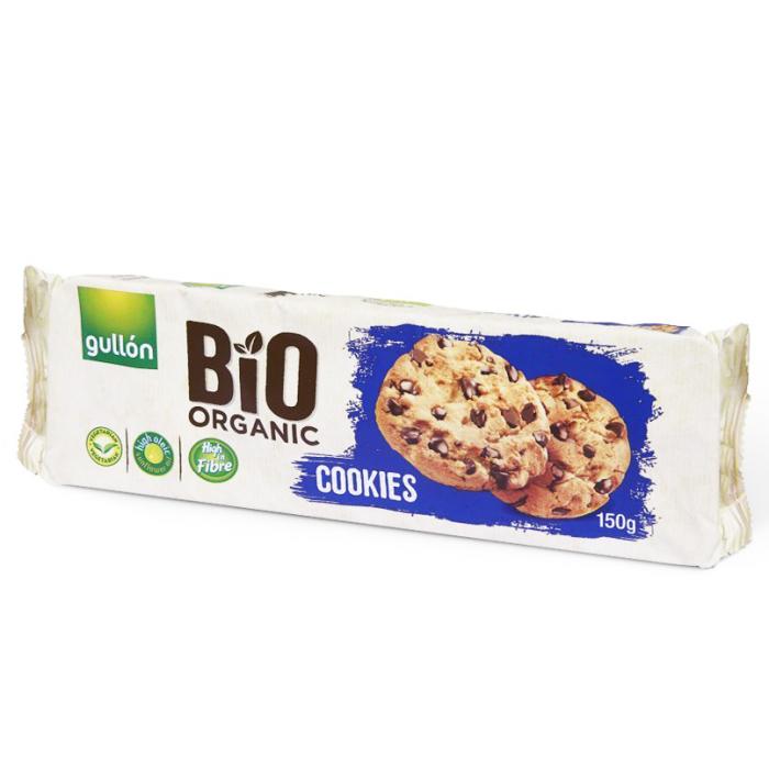 GULLION Fursecuri Bio, Ecologice cu Chips-uri de Ciocolată 150g [0]