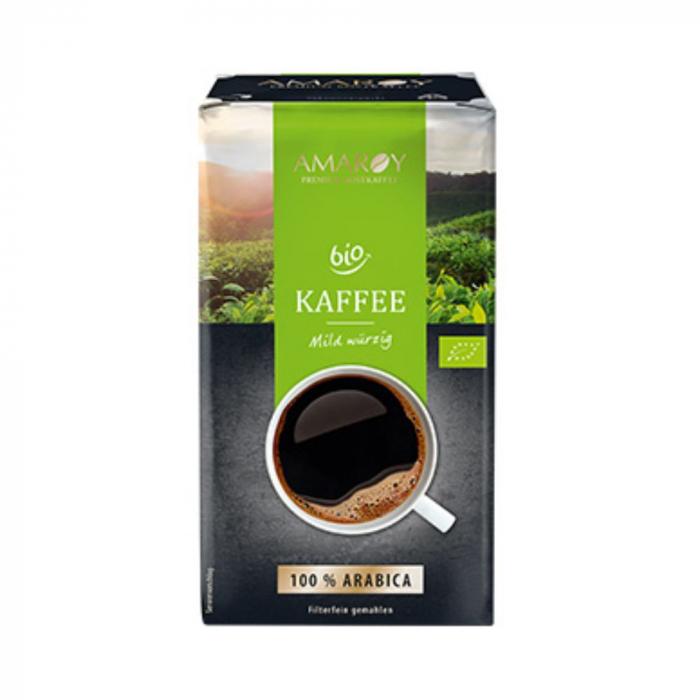 AMAROY Mild Cafea Macinata Bio Ecologica 500g [0]