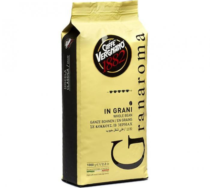 CAFFE VERGNANO Granaroma Cafea Boabe 1kg [0]
