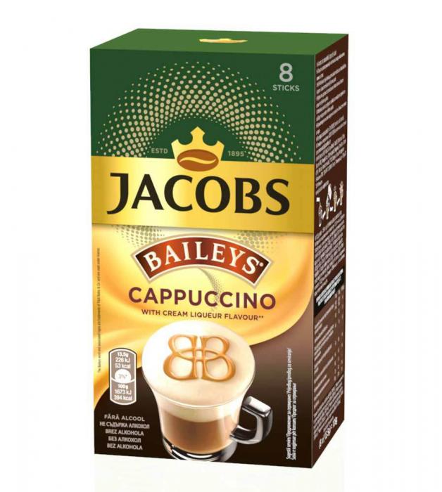 Cappuccino JACOBS Bailey's cu Aroma de Lichior [0]