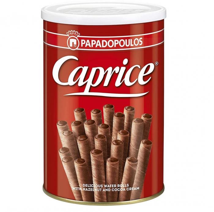 CAPRICE Napolitane Rulou cu Alune si Cacao 250g [1]