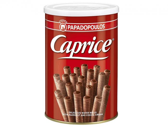 CAPRICE Napolitane Rulou cu Alune si Cacao 250g [0]
