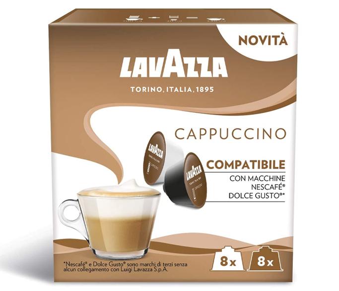 LAVAZZA Cappuccino Capsule Dolce Gusto 16buc 8 bauturi [2]