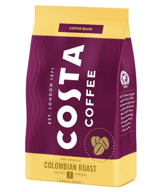 COSTA Colombian Roast Cafea Boabe 500g [0]
