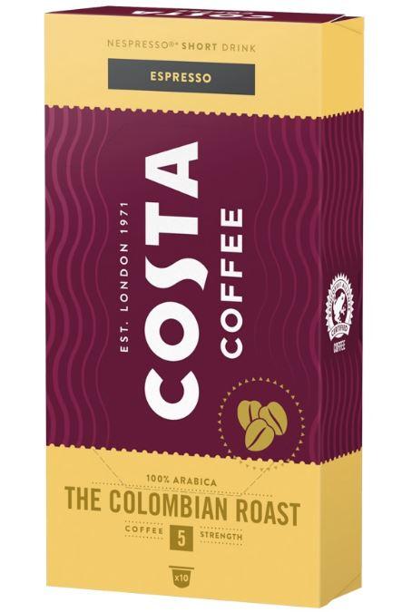 COSTA Espresso The Colombian Roast Capsule Nespresso 10buc [0]