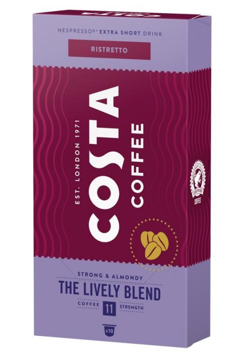COSTA Ristretto The Lively Blend Capsule Nespresso 10buc [0]