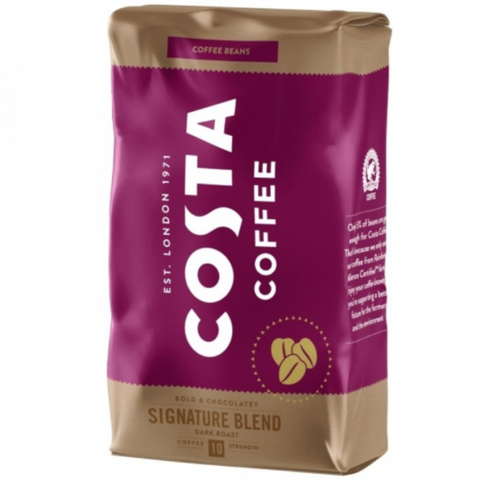 COSTA Signature Blend Dark Roast Cafea Boabe 1Kg [0]