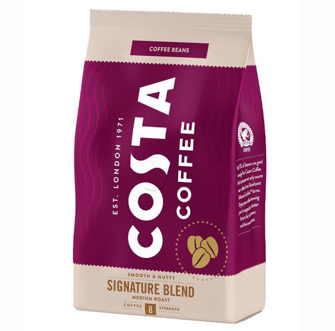 COSTA Signature Blend Smooth & Nutty Medium Roast Cafea Boabe 500g [0]