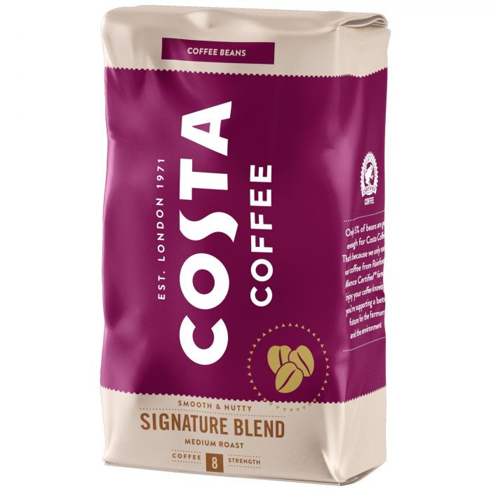 COSTA Signature Blend Smooth & Nutty Cafea Boabe 1Kg [0]