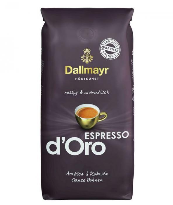 DALLMAYR Espresso D'oro Cafea Boabe 1kg [0]